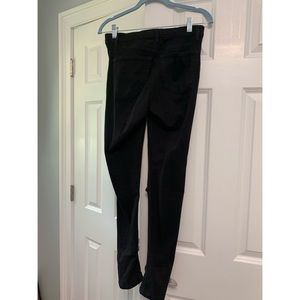 Topshop Jeans - TopShop Ripped Black Jeans
